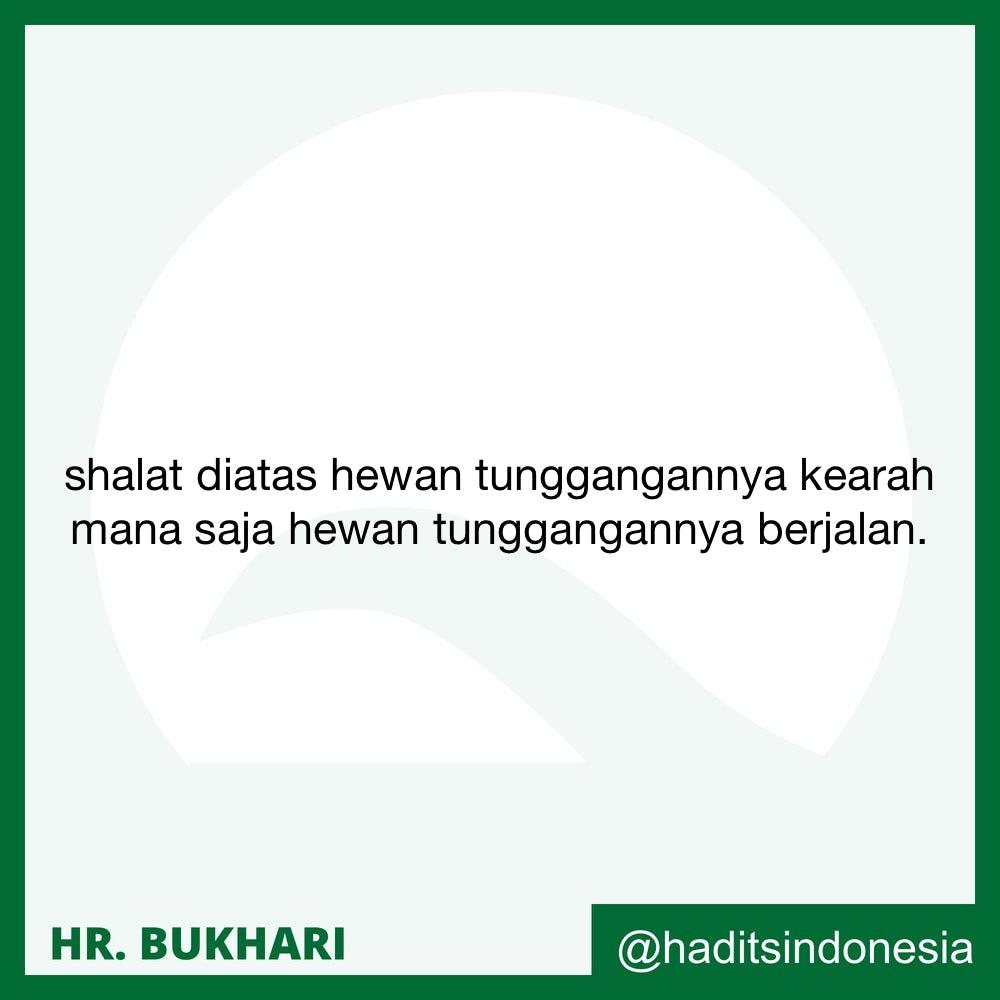 Shalat Sunnah di atas Kendaraan dan Menghadap Mengikuti Arah Kendaraan
