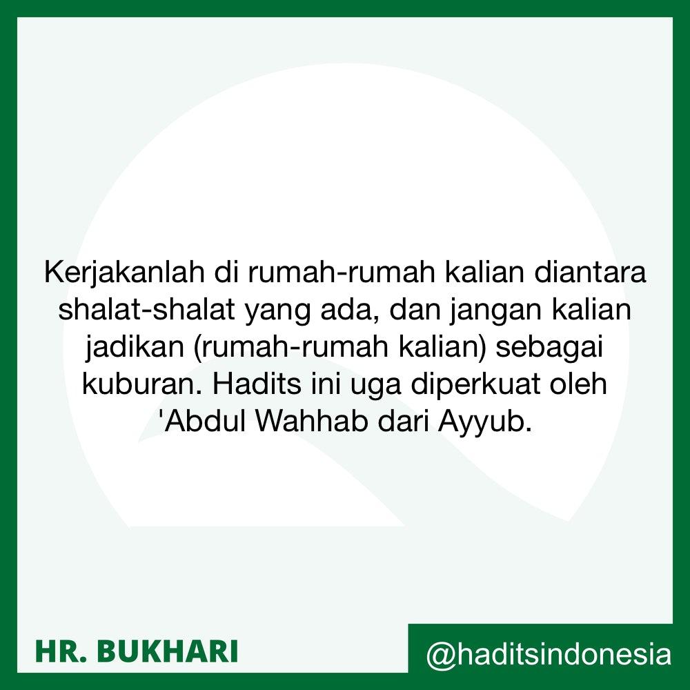 Mengerjakan Shalat Sunnah di Rumah