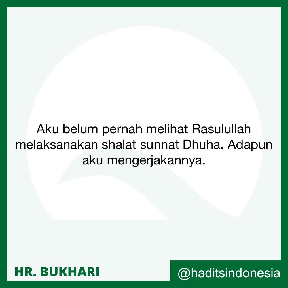 Orang Yang Tidak Mengerjakan Shalat Sunnah Dluha dan Menganggapnya Sebagai Masalah Yang Luas