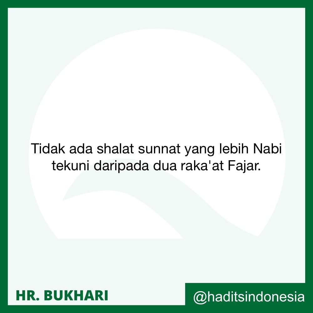 Senantiasa Memelihara Shalat Sunnah Fajar dan Orang Yang Menamakannya Sunnah