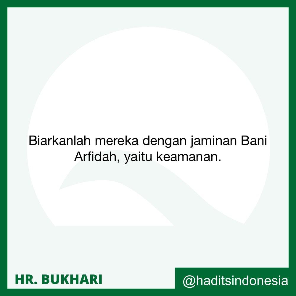 Apabila Seseorang Tertinggal Shalat Hari Raya, Maka Hendaklah Dia Shalat Dua Raka'at.  Begitu Juga Bagi Para Wanita dan Orang-orang Yang berada di Rumah dan Yang Tinggal Jauh di Dusun.