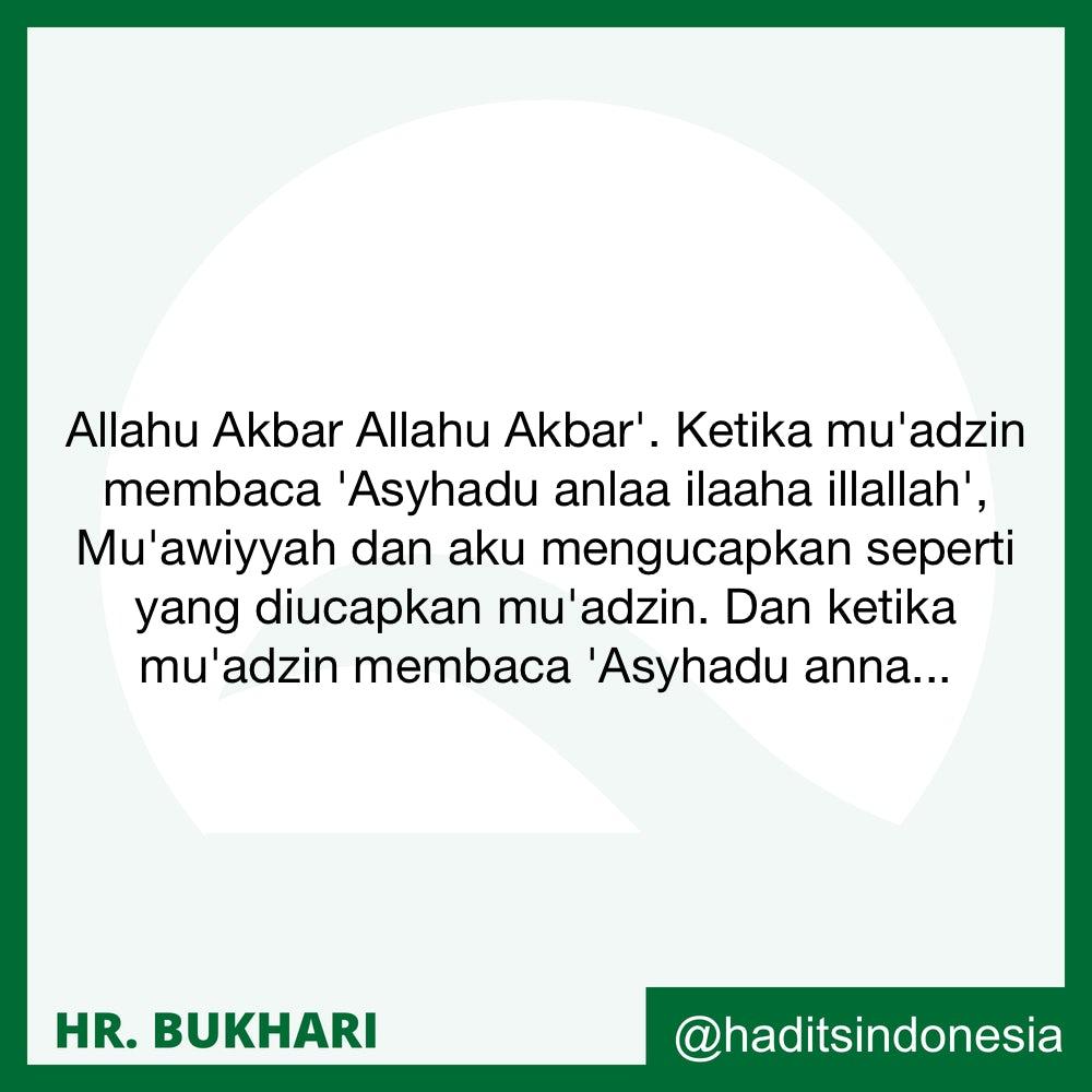 Wajib Bagi Imam Berada di Mimbar Ketika Mendengar Adzan