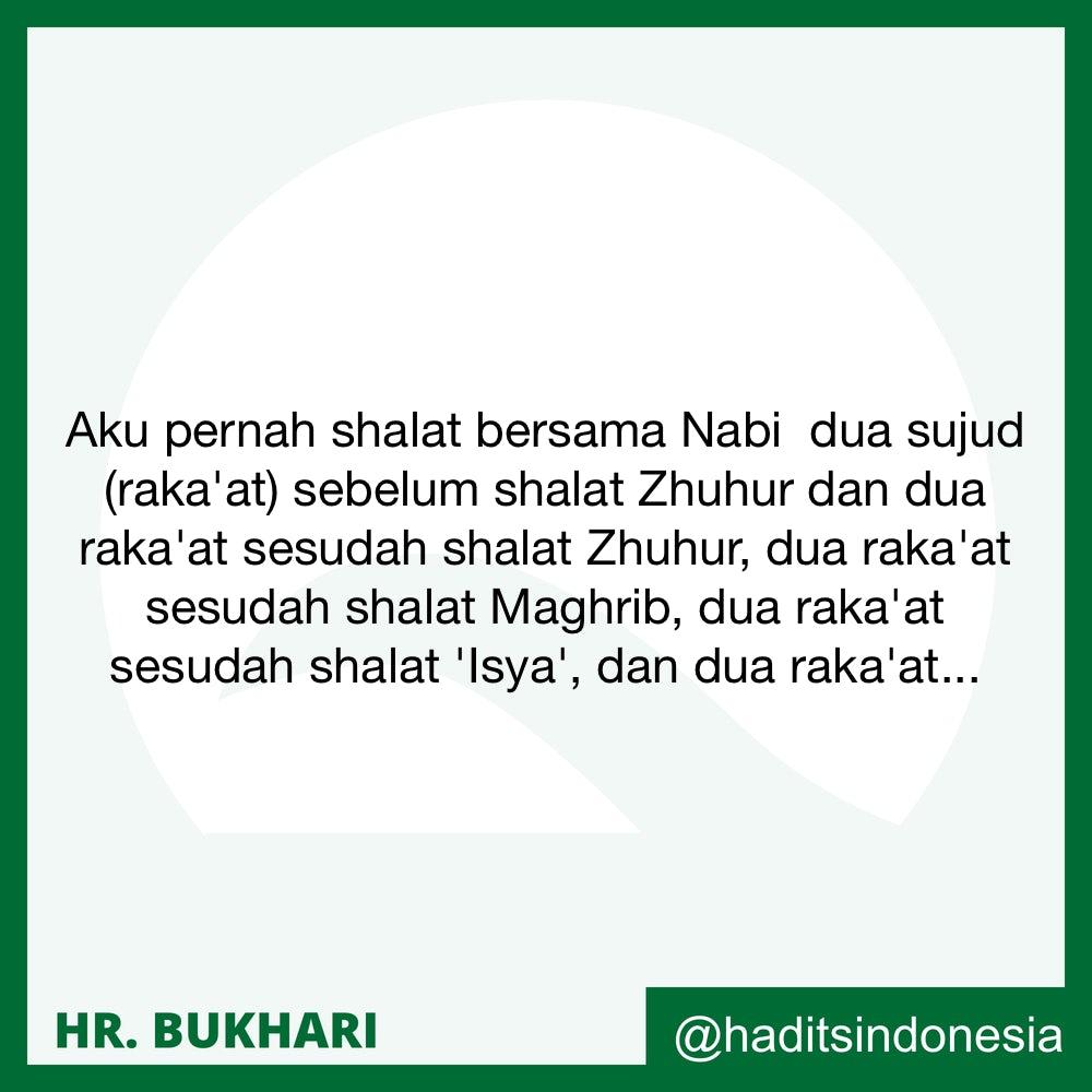Shalat-Shalat Sunnah Setelah Shalat Fardlu
